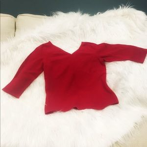 Ann Taylor 3/4Sleeve Cashmere Sweater